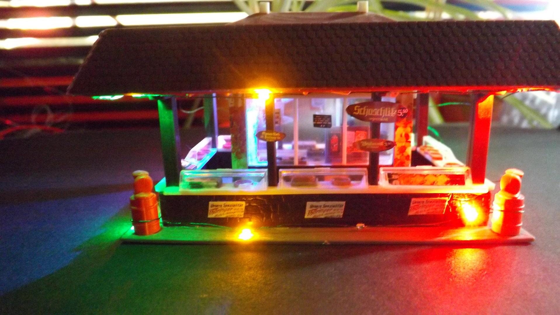 guirlande électrique 4 en couleur et en blanc chaud LED weihnachtset sapin vert