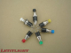 Pressure switch in different colours
