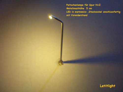 No.3 LED Whip lamp with socket