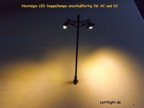Straat lamp met LED-technologie