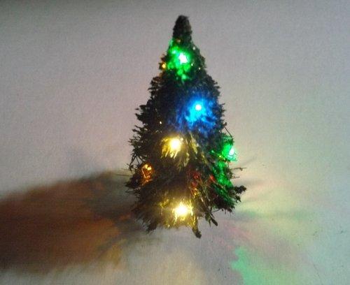 Tannenbaum Grün.Nr 3 Weihnachtset Mit Tannenbaum Grün 2x 4 Farbiger Mit 8 Led